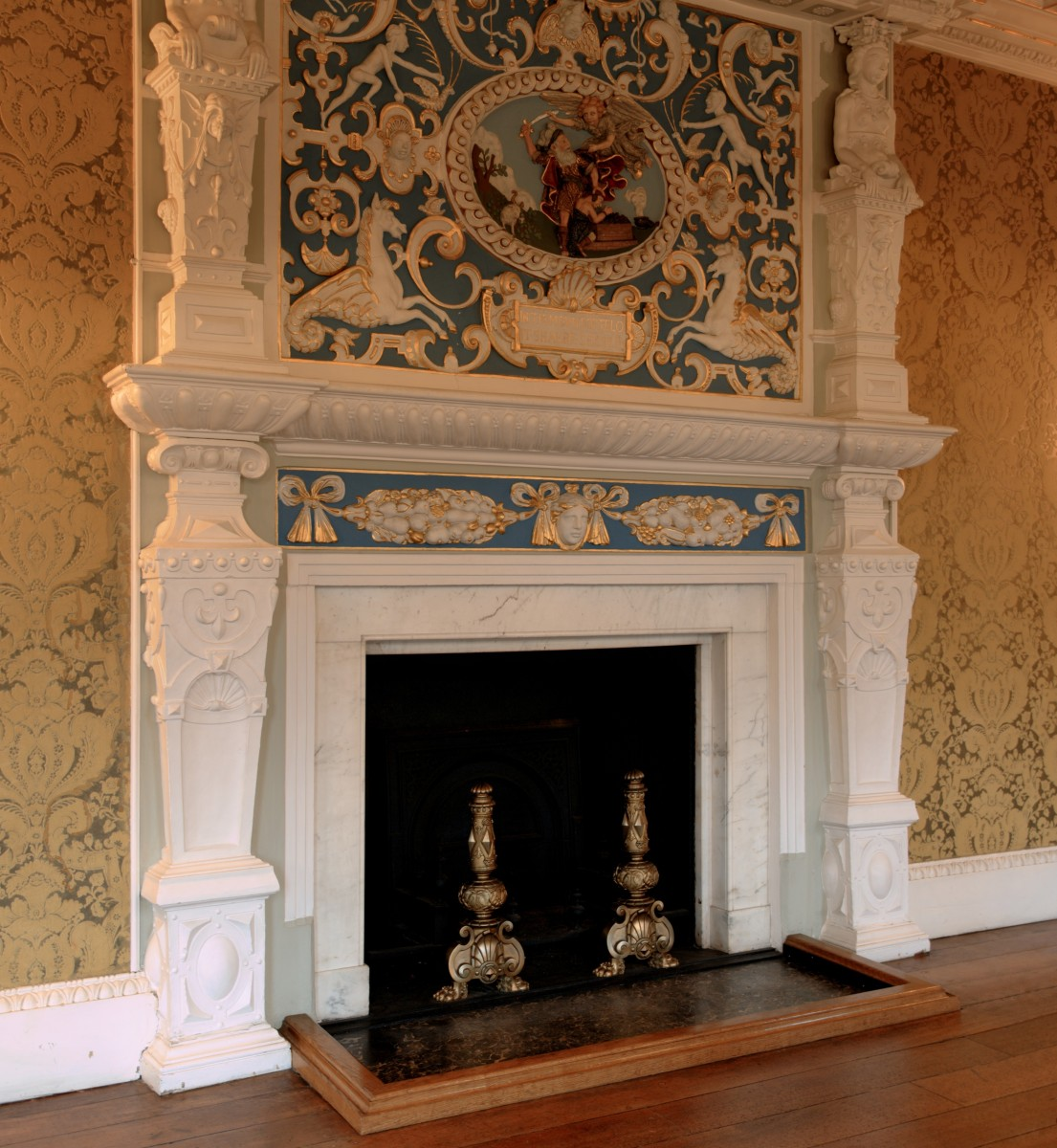 Custom Mantels For Fall Fireplaces